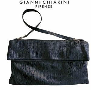 Gianni Chiarini tooled leather  bag